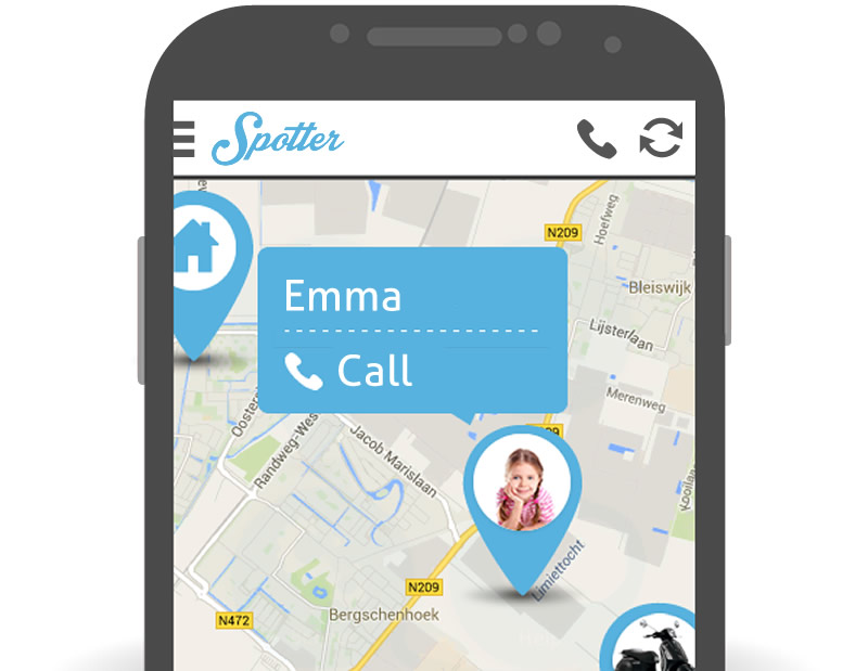 Call Spotter GPS Tracker