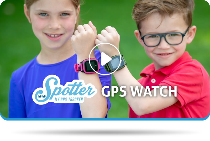 Child GPS Watch Video Spotter