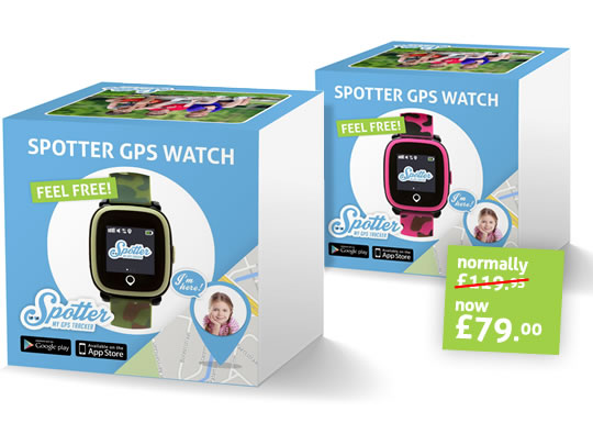 Kids GPS Watch Spotter